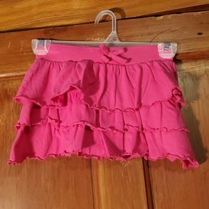 Real Love Pink Layered Skirt Size 10/12